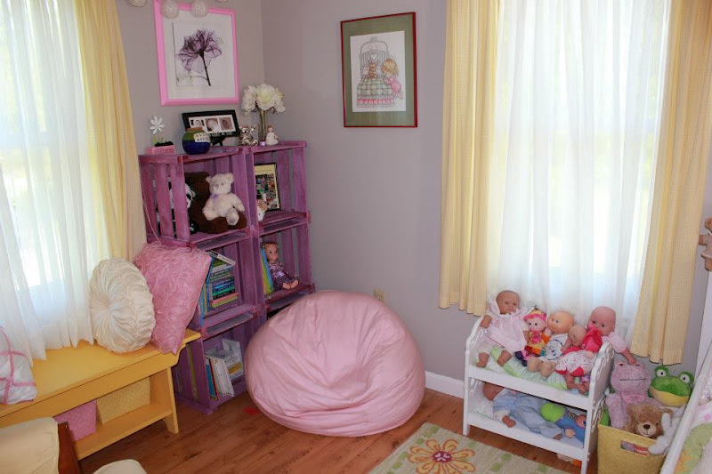Letters to my little love big girl garden room reveal for Small dirty room 7 letters