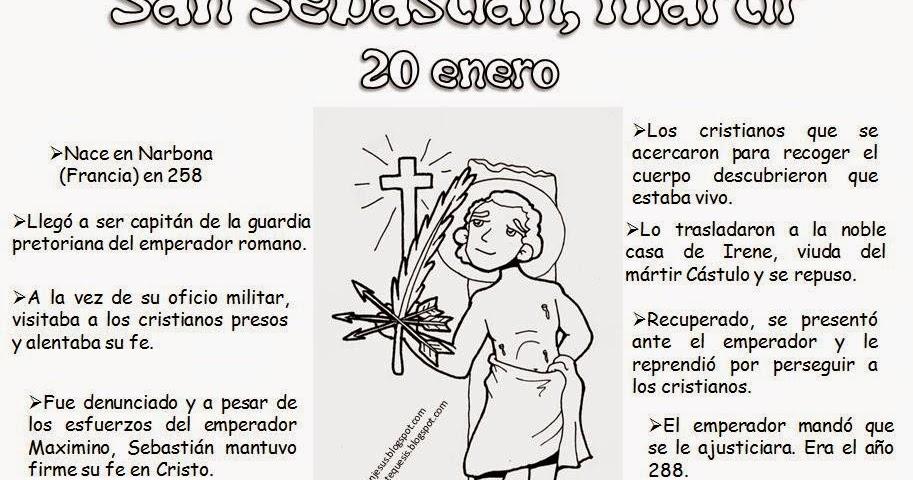Educar con Jesús: San Sebastián, mártir. 20 de enero