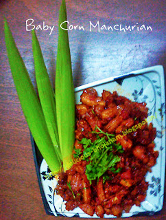 Baby Corn Manchu...