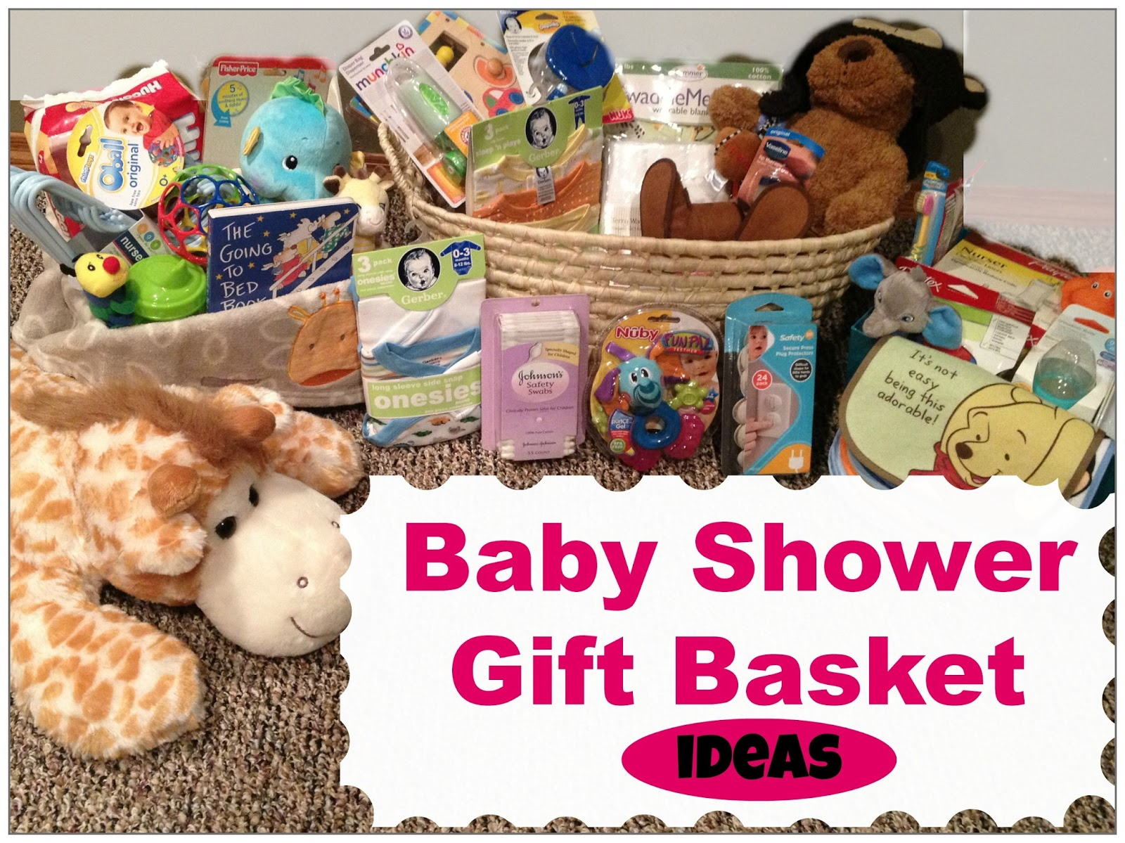 Baby Shower Gift Basket Ideas