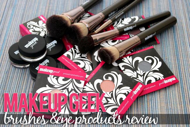 Makeup Geek Brushes Makeup Geek Products Review