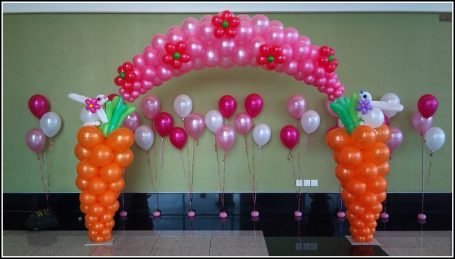 Ar balloon decoration the best balloon decorations in for Balloon decoration for kids