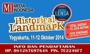 HISTORICAL LANDMARK YOGYAKARTA, TOTAL HADIAH 15 JUTA