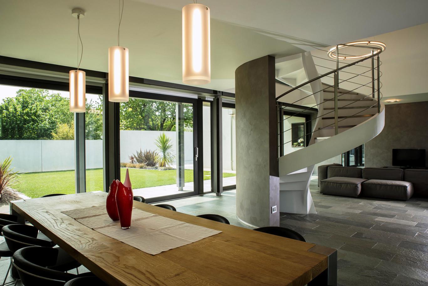 Portal de dise o y decoraci n continuidad entre interior for Diseno de casas interior y exterior
