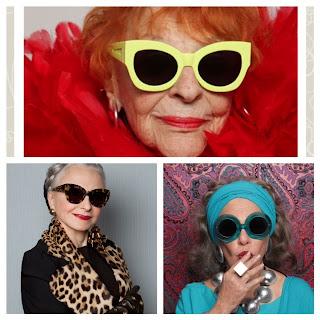 Karen Walker, Karen Walker style, New York style, designer, fashion week, fashion show, NYFW, funky, sunglasses, designer shades, eyewear, cool sunnies, old lady, golden girls, New York ladies