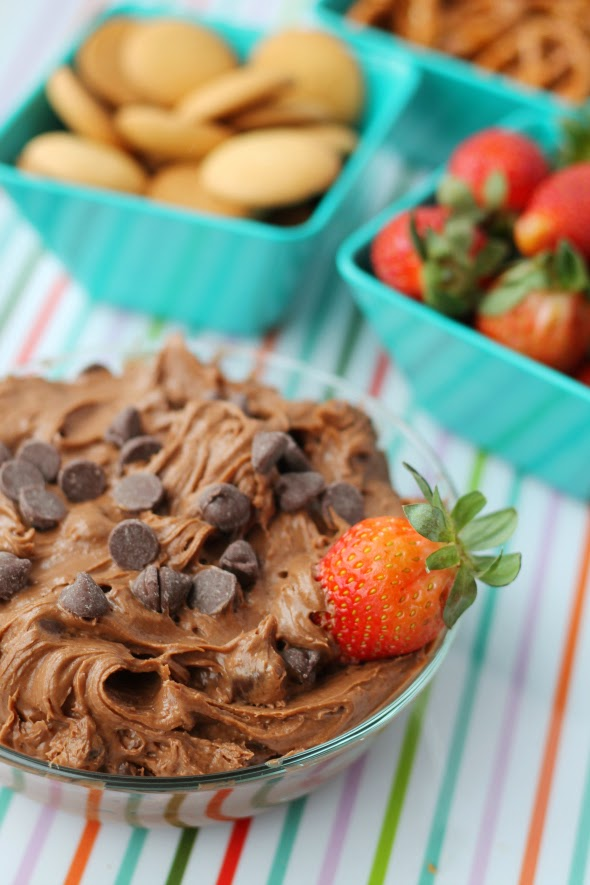 The best dip ever! Brownie Batter Dip