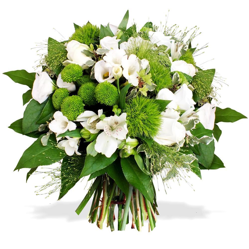 Bouquets de mariee en fleurs naturelles for Bouquet de fleurs 974