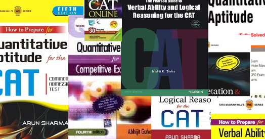 Recommended books for cat mba entrance exams xat snap fms fandeluxe Images