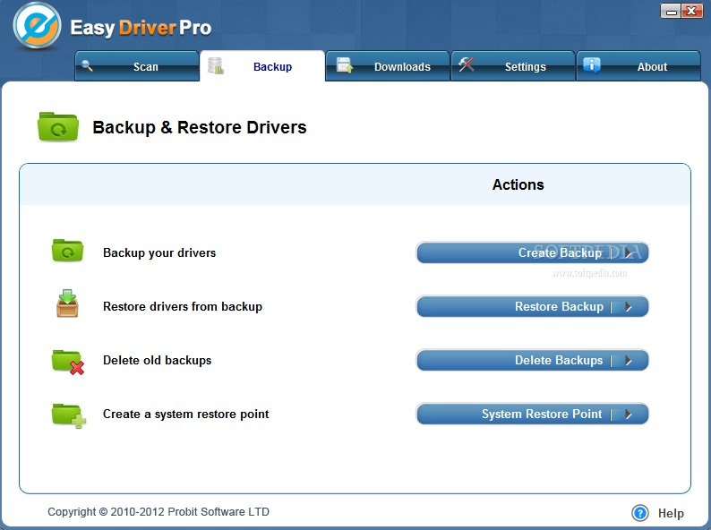 third Screenshots Of Easy Driver Pro 8.0.3