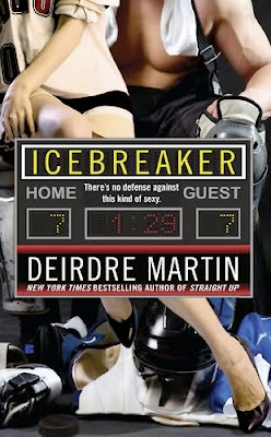 Book cover of Icebreaker by Deirdre Martin (NY Blades hockey romance series #8)