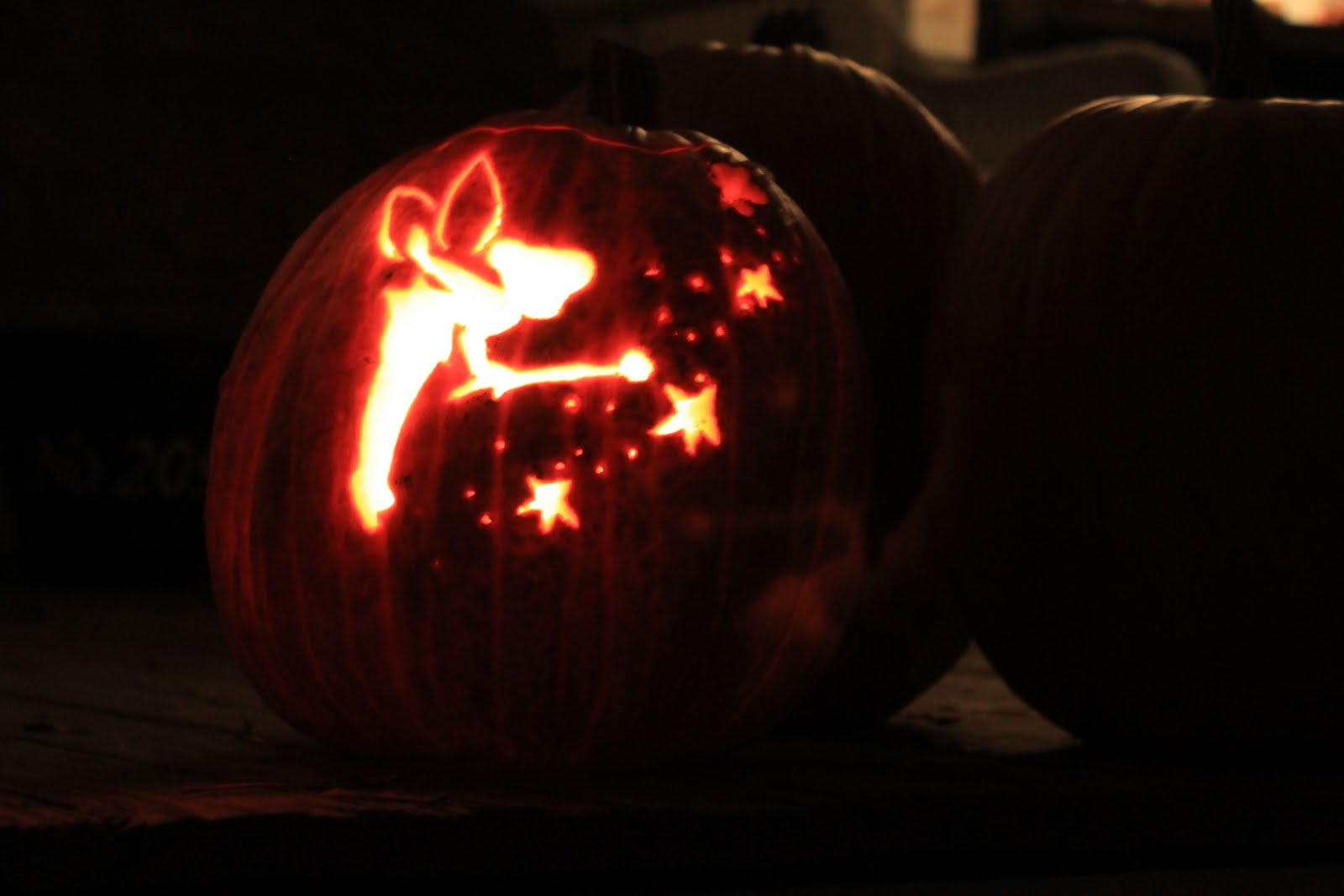 While wearing heels october 2011 for How to carve tinkerbell in a pumpkin