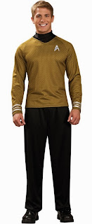 Star Trek Movie (2009) - Gold Shirt Deluxe Adult Costume