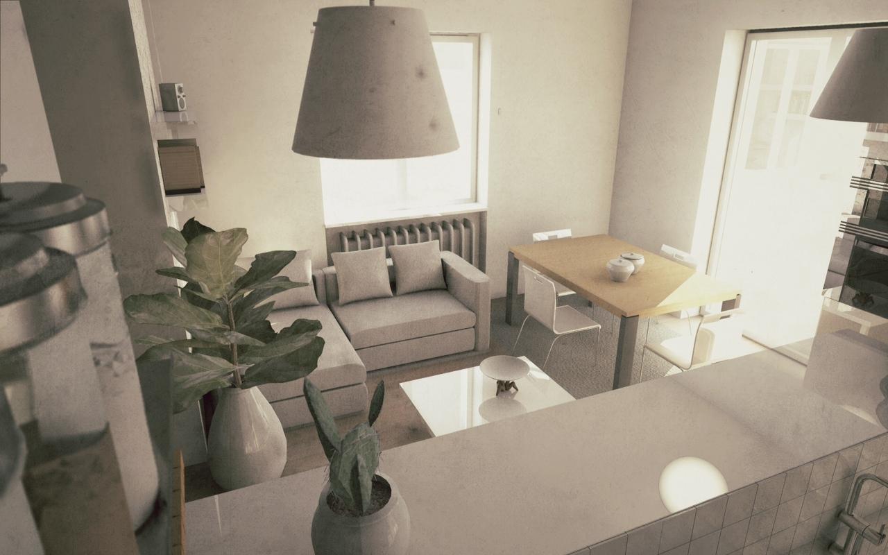 Ristrutturazione interna di appartamento privato for Metraggio di appartamento studio