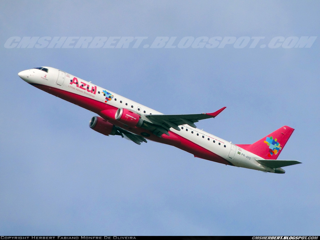 "MORE THAN FLY Group | Azul ""takeoff"" in another Pink October. Check the news!"
