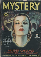 Cover of the pulp magazine Mystery (February 1934)