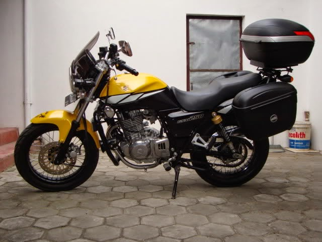 Suzuki Thunder 250 Modifikasi Touring