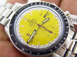 OMEGA SPEEDMASTER CHRONOGRAPH REDUCED YELLOW DIAL - AUTOMATIC