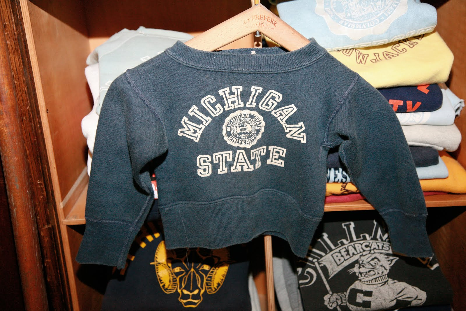1950S COLLEGE SWEATSHIRT