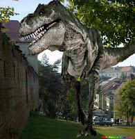 Dinozaur, T-Rex, Targu Mures, Cetate