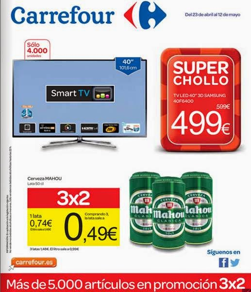 carrefour super chollos abril- mayo 2014