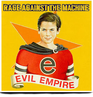 Portada Evil Empire Rage Against the Machine