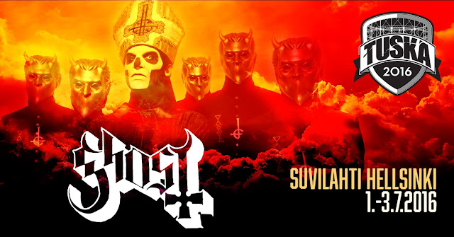 Tuska Open Air 2016 - Ghost