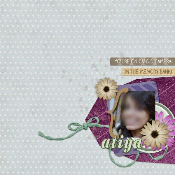 Layout Done using Everday Moments by Amara VanLente
