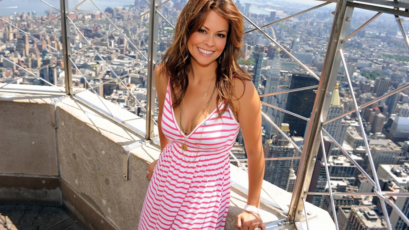 Brooke Burke Smiling