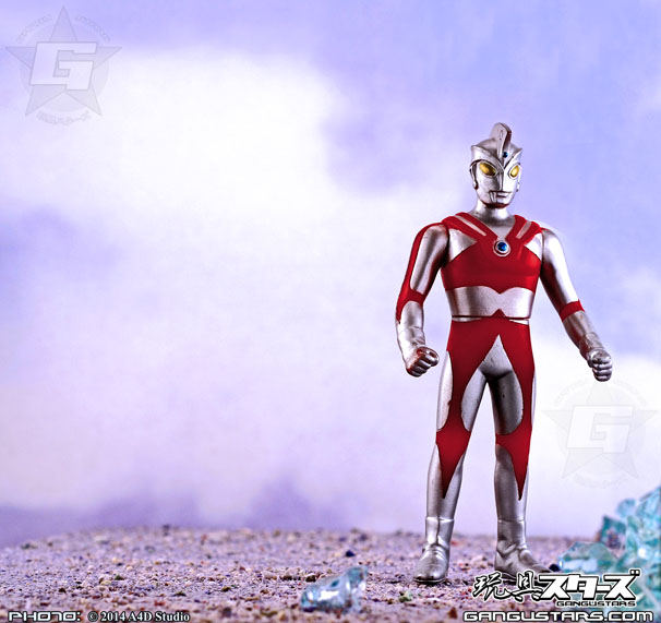 Bandai sofubi Ultraman Ace tokusatsu Japanese monsters hero