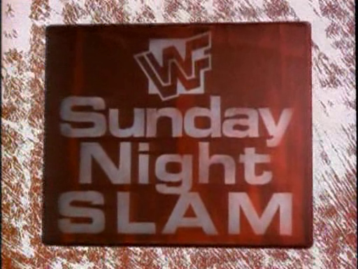 WWF / WWE - In Your House 3 - Triple Header - Sunday Night Slam logo