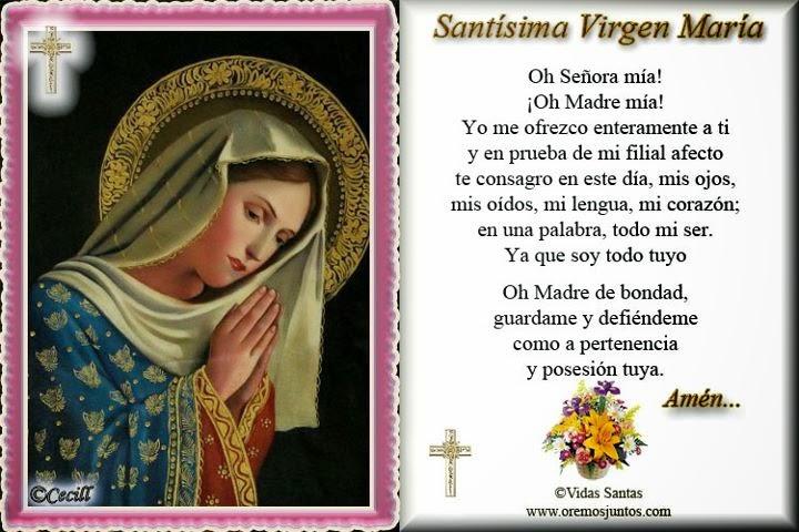 Oración para Rosalio con cariño de Patricia Araya