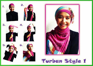 Unique Mode: Cara make' jilbab cantik