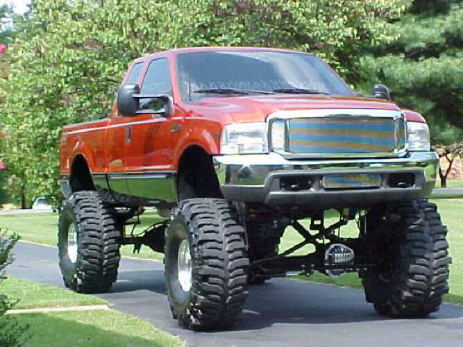 Most Jacked Up Truck >> World Of Cars: Ford trucks lifted