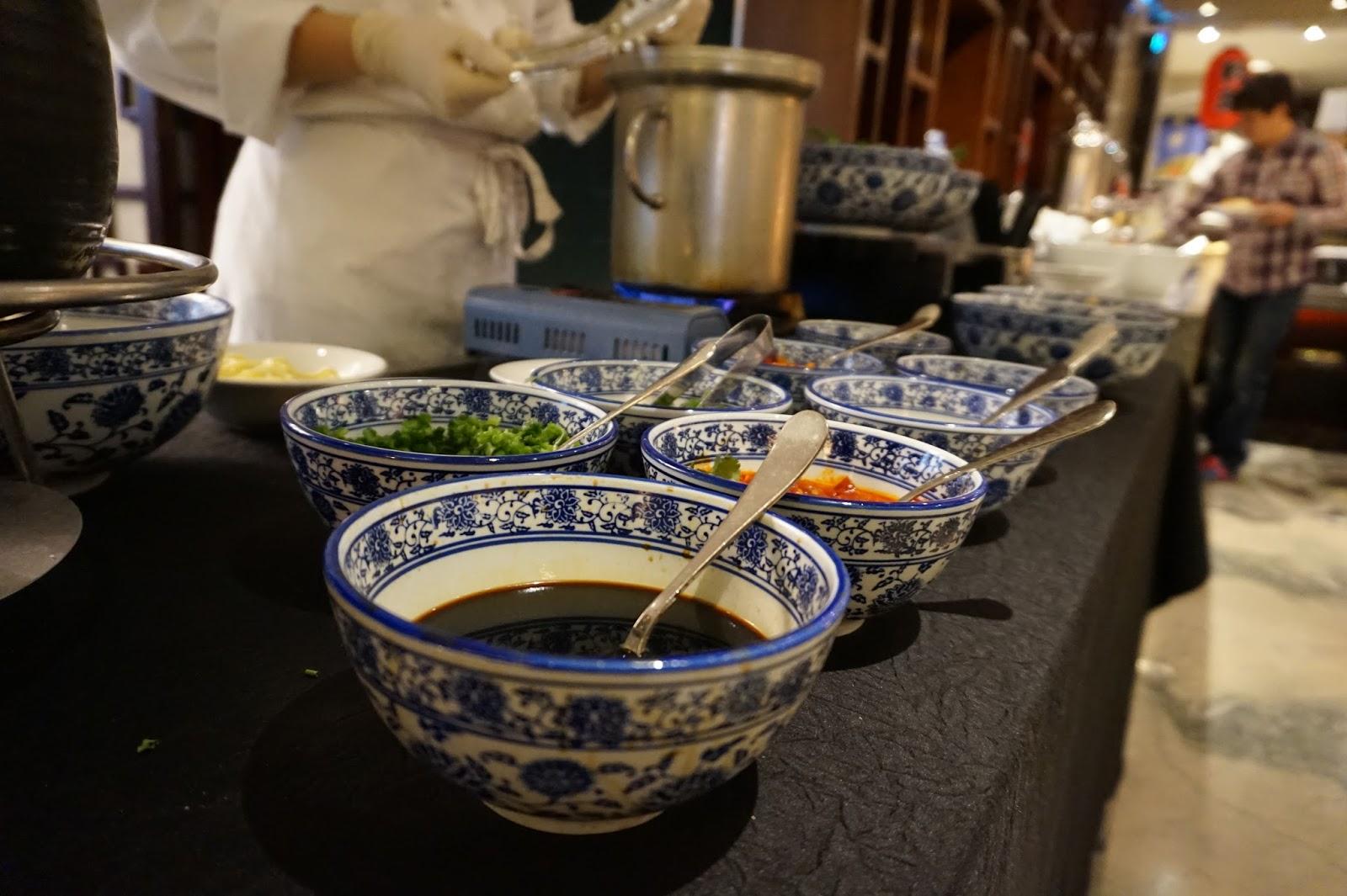 portman ritz-carlton shanghai china prc hotel review tables restaurant breakfast buffet