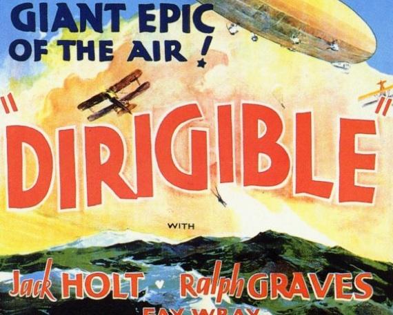 Dirigible film poster jjbjorkman.blogspot.com