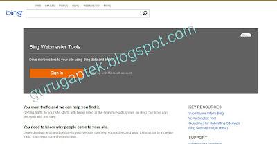 Bing Webmaster
