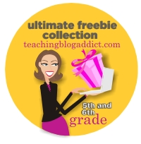 5th Grade and Sixth Grade Free Download - Teacher Blast on Teaching Blog Addict
