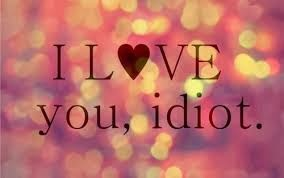 Ich liebe dich du idiot