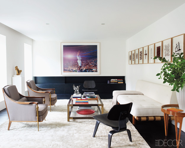 The north elevation spaces found associates found for 1950s minimalist house