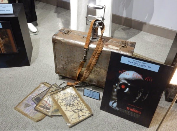 12 Monkeys suitcase film prop