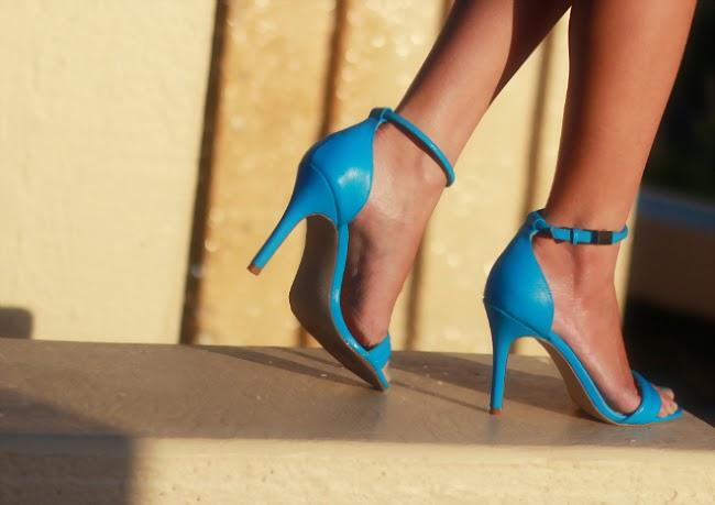 prabal gurung ankle strap sandals manolo YSL heels