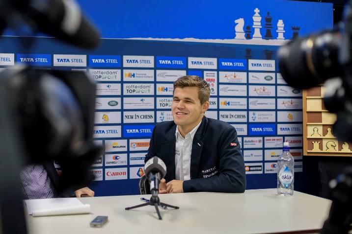 Magnus Carlsen viendra défendre son titre en 2016 - Photo © Alina L'Ami