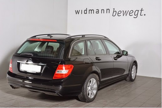 C 180 CDI BE Mercedes-Benz Schwarz