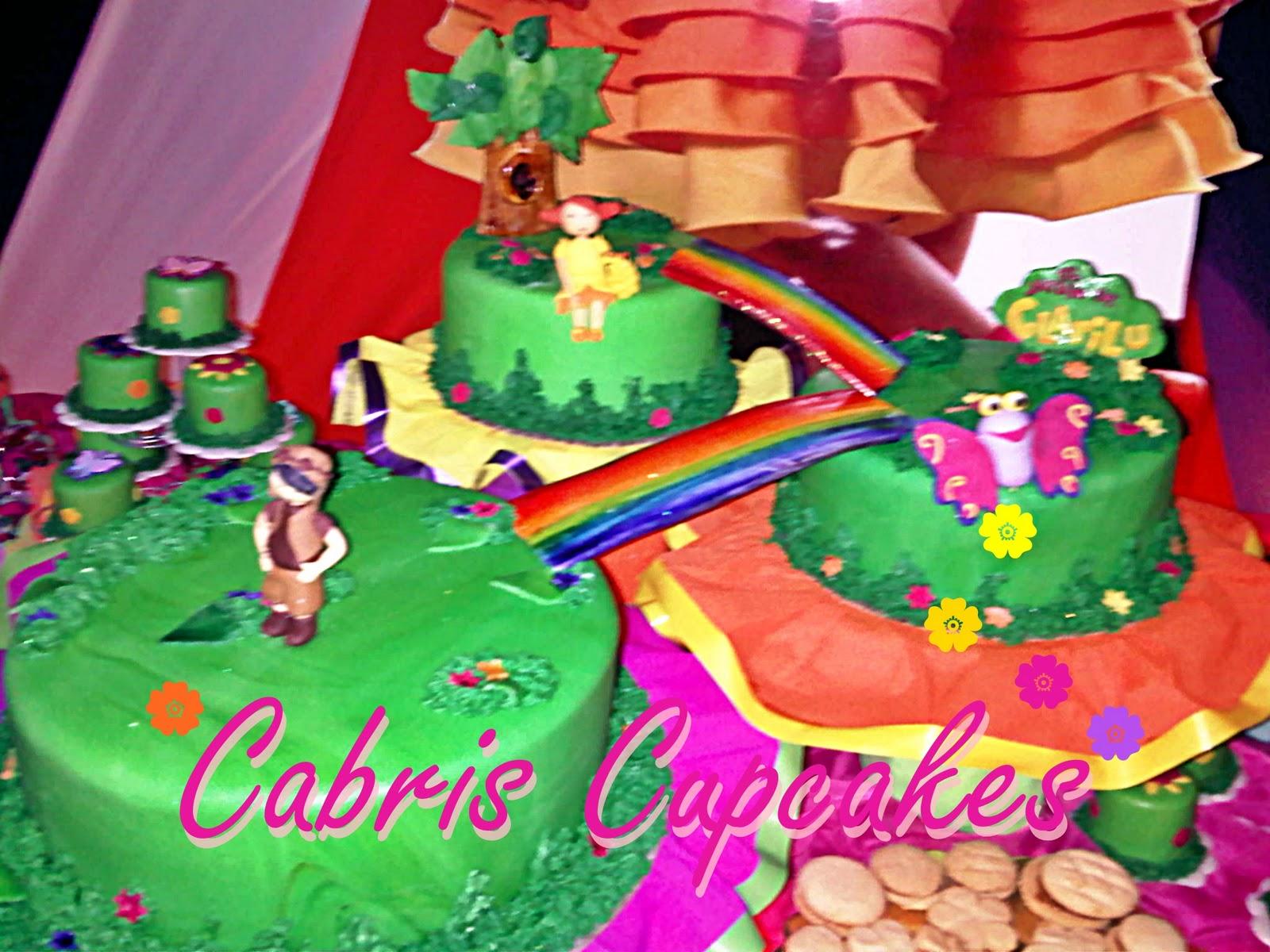 Cabris cupcakes el jard n de claril for Cancion el jardin de clarilu