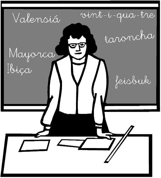 LA DOCENT ANACRÒNICA