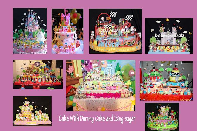 Cake dengan Dummy