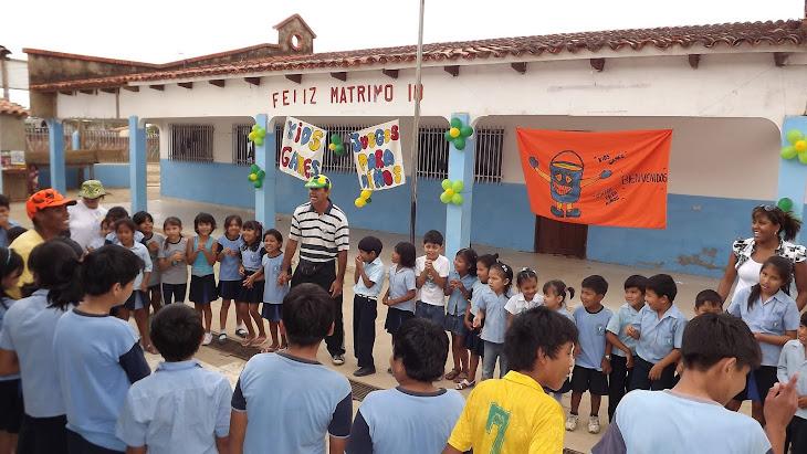 CPM na escola Água de Vida