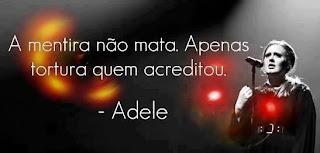 Adele Mensagem para o Facebook Tudo Nosso