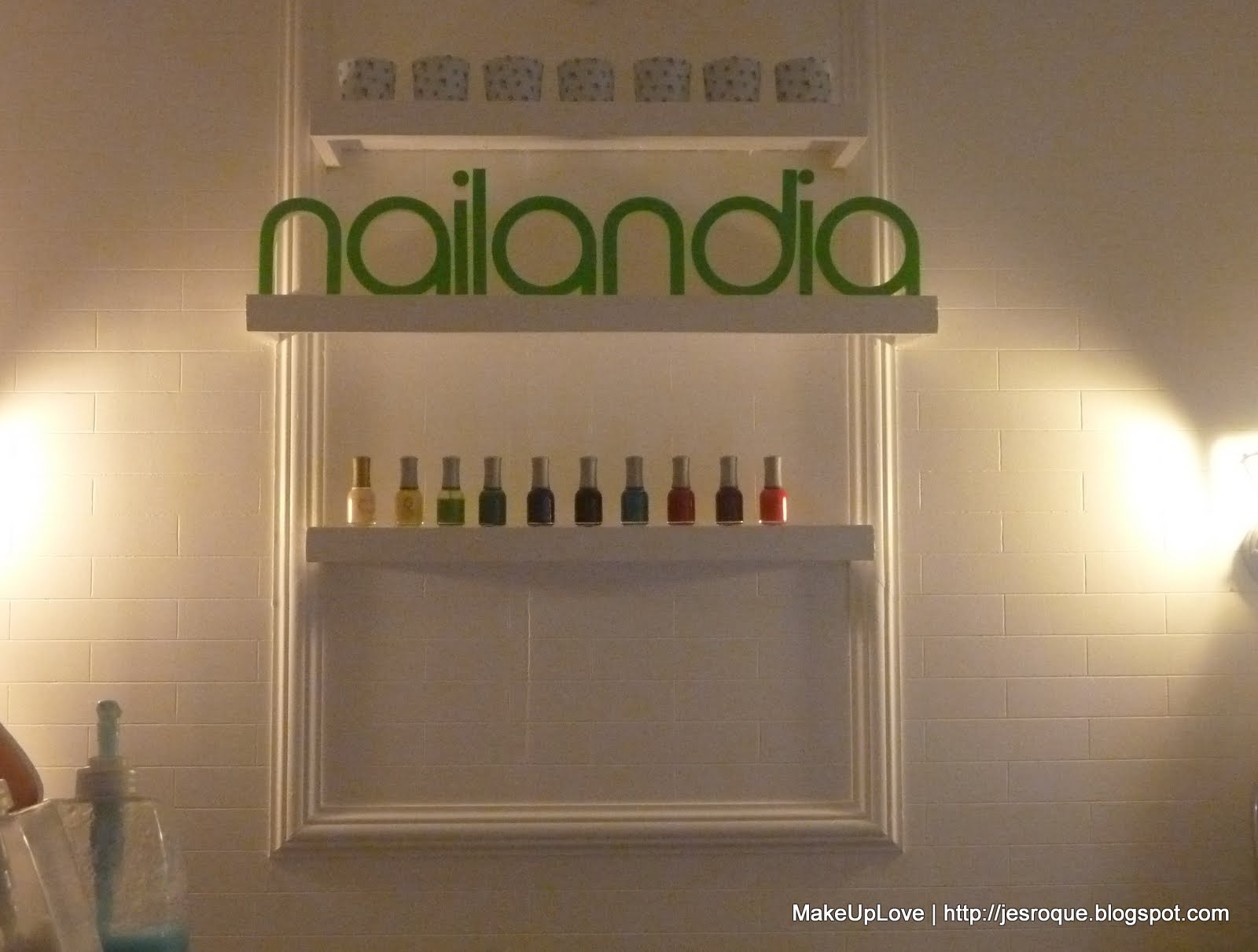About Nailandia Is That It Not As Crowded Other Nail Salons Studios There Was Only One Customer When Kei Keislifestylecloset And I Arrived