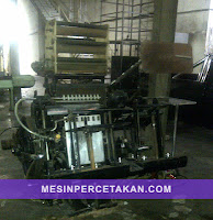 Heidelberg T Platen | Mesin Nomorator Kipas